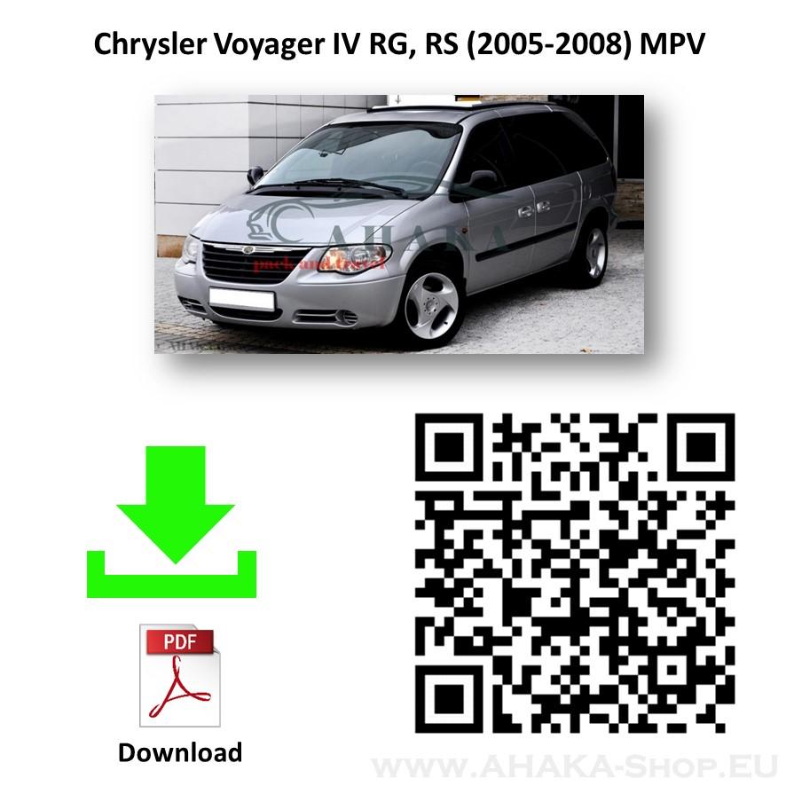 Anhängerkupplung für CHRYSLER VOYAGER Bj. ab 2004 - 2008 - günstig online kaufen