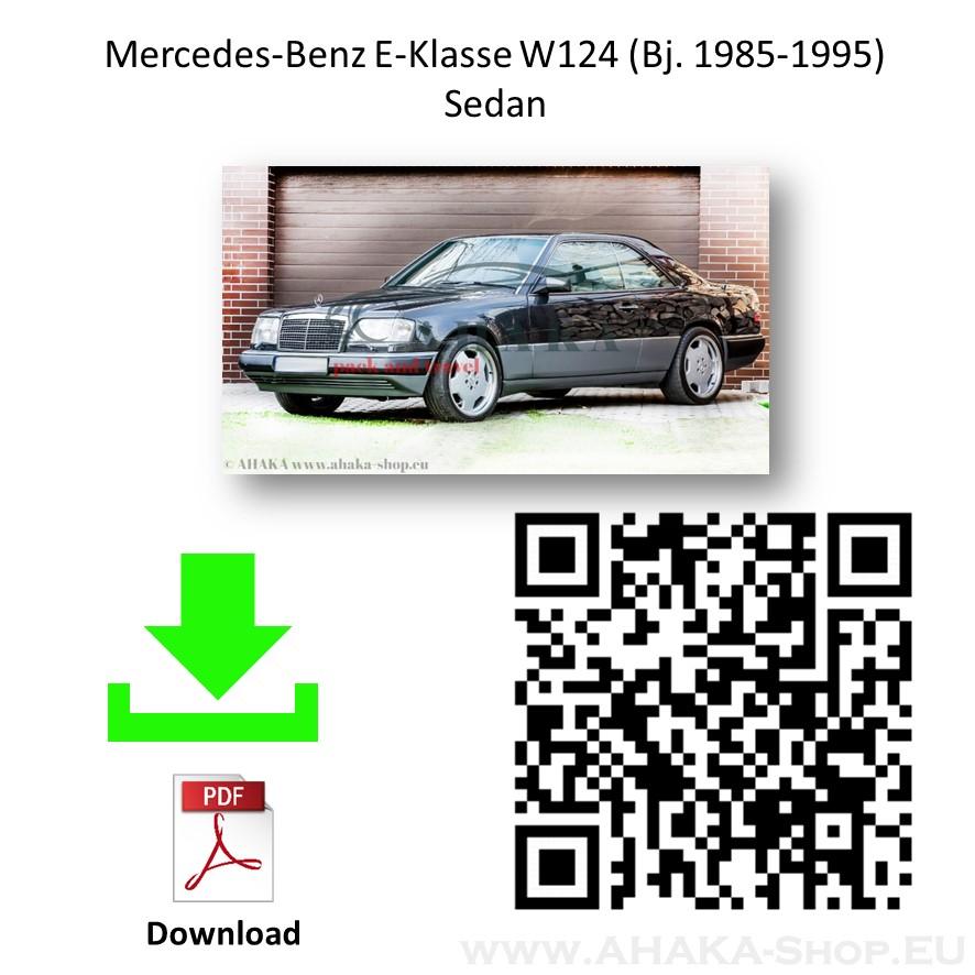 Anhängerkupplung für MB Mercedes Benz 124 Stufenheck Bj. 1985 - 1995 - günstig online kaufen