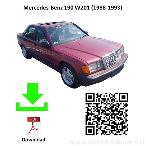 Anhängerkupplung für MB MERCEDES BENZ 190 W201 Stufenheck Bj. ab 1988 - 1993 - günstig online kaufen