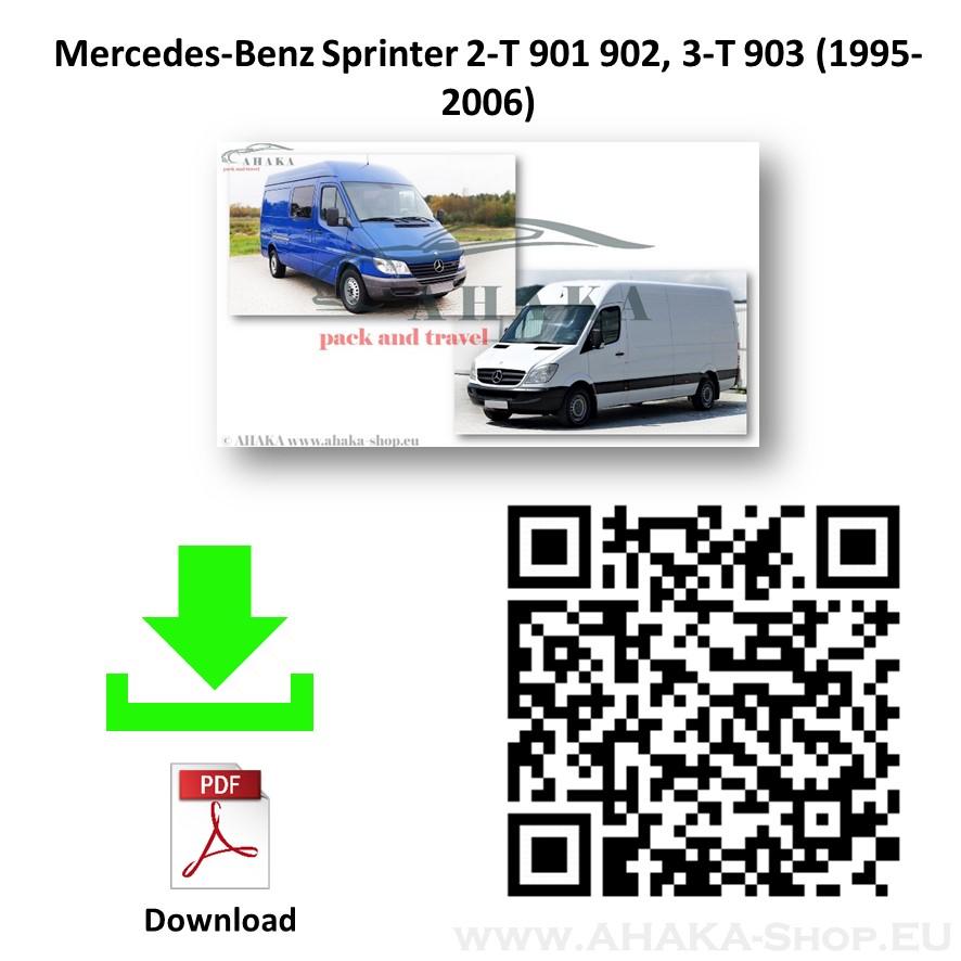 Anhängerkupplung für MB MERCEDES BENZ SPRINTER Bus, Kasten Bj. ab 1995 - 2006 - günstig online kaufen