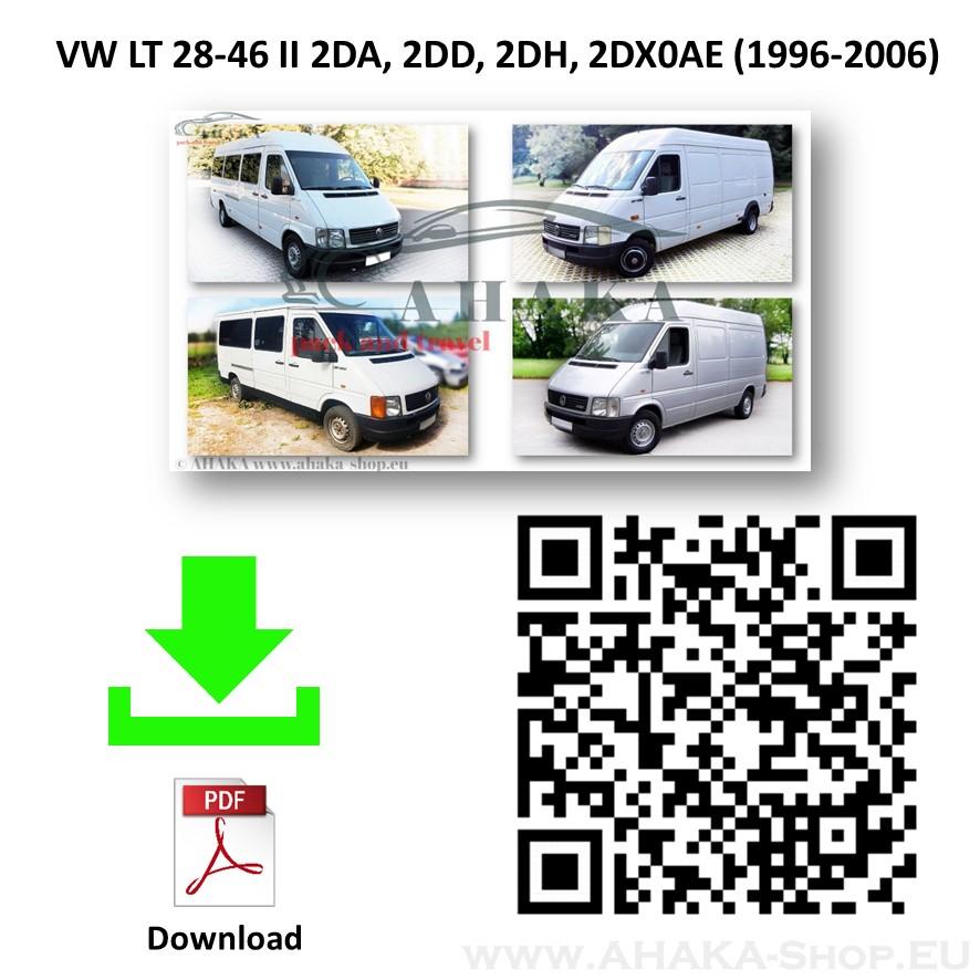 Anhängerkupplung für VW VOLKSWAGEN LT 28-35 Bus, Kasten Bj. ab 1996 - 2006 - günstig online kaufen