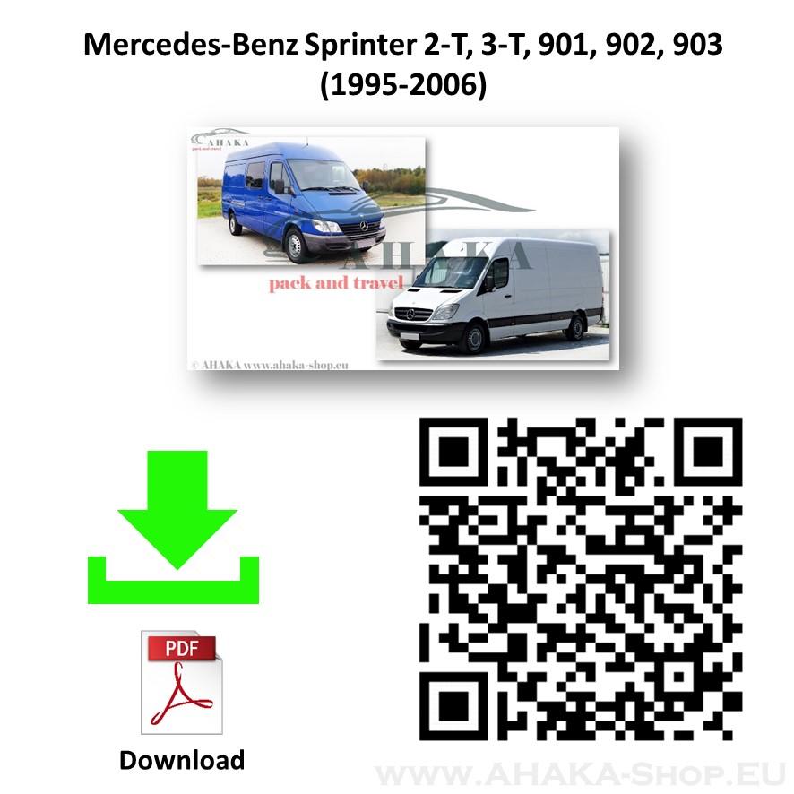 Anhängerkupplung für MB Mercedes Benz Sprinter Bus, Kasten Bj. 1995 - 2006 - günstig online kaufen