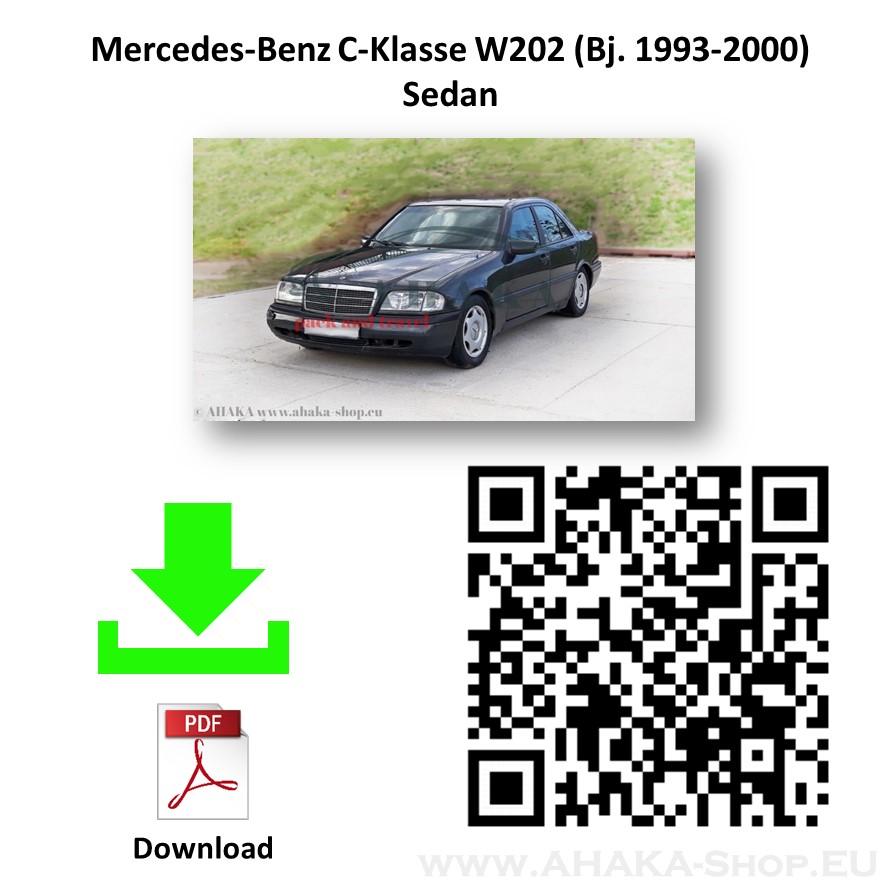 Anhängerkupplung für MB Mercedes Benz C Klasse W202 Stufenheck / S202 Kombi Bj. 1993 - 2000 - günstig online kaufen
