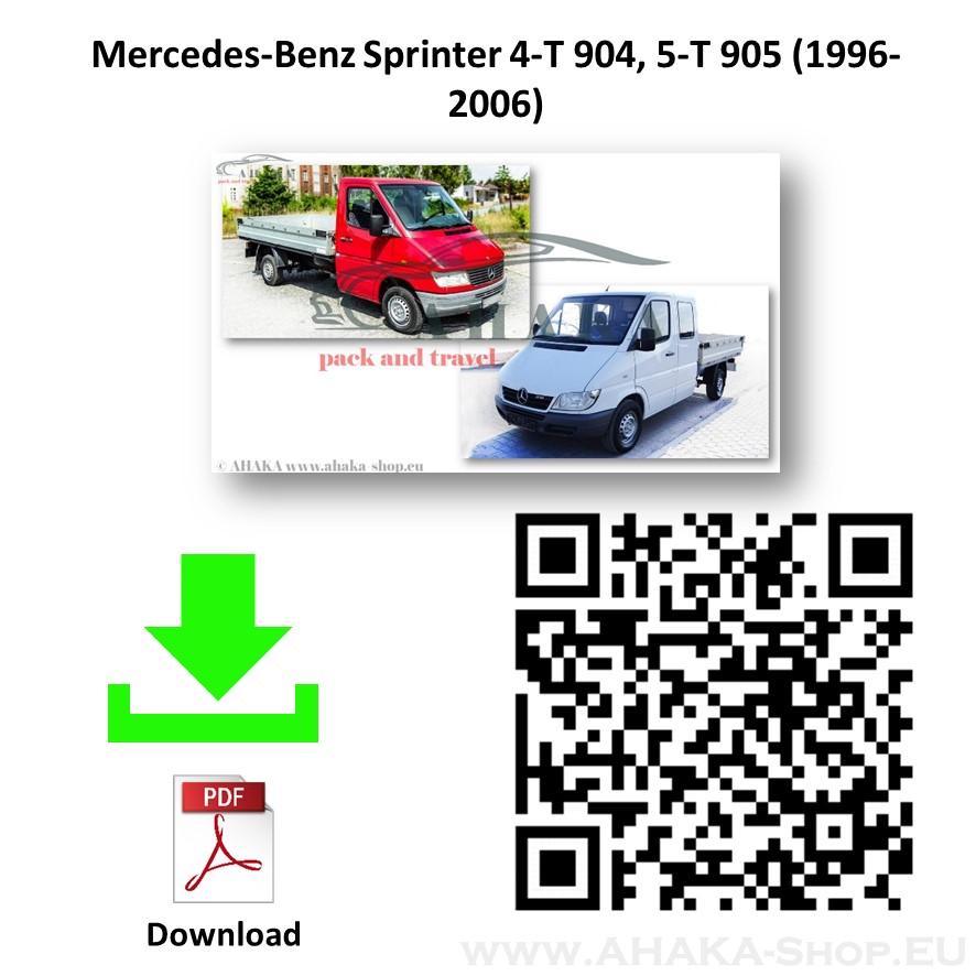 Anhängerkupplung für MB MERCEDES BENZ SPRINTER Pritsche Bj. ab 1995 - 2006 - günstig online kaufen