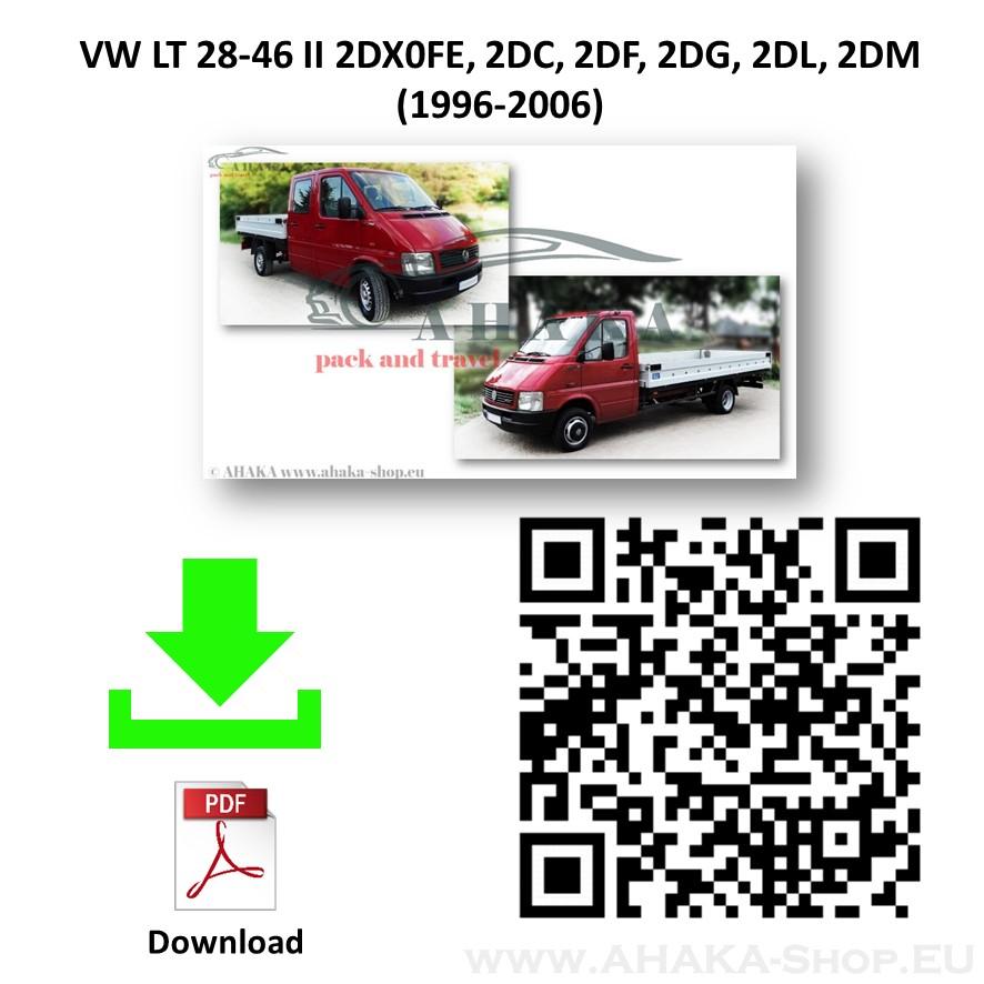 Anhängerkupplung für VW VOLKSWAGEN LT 28-35 Pritsche Bj. ab 1996 - 2006 - günstig online kaufen