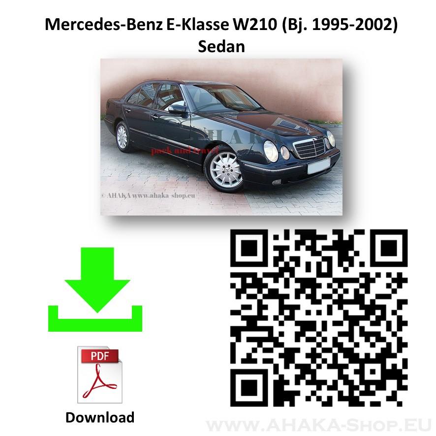 Anhängerkupplung für MB Mercedes Benz E Klasse W210 Stufenheck Bj. 1995 - 2002 - günstig online kaufen