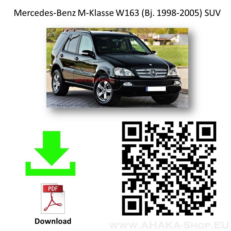 Anhängerkupplung für MB Mercedes Benz M Klasse (ML) W163 Bj. 1998 - 2005 - günstig online kaufen