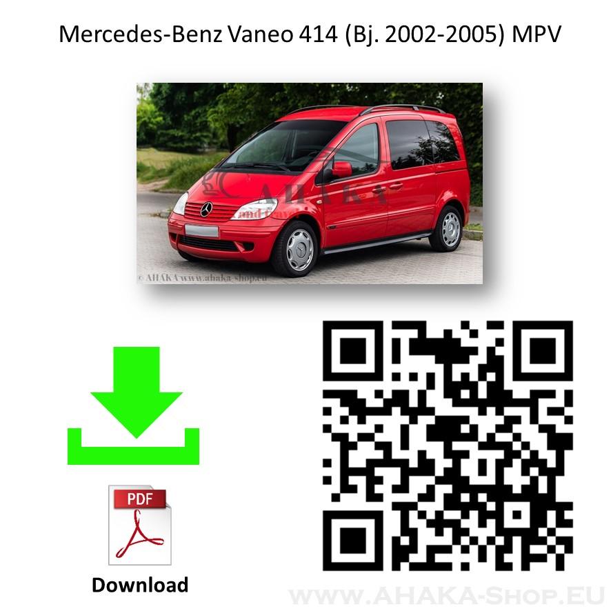 Anhängerkupplung für MB Mercedes Benz Vaneo W414 Bj. ab 2002 - günstig online kaufen