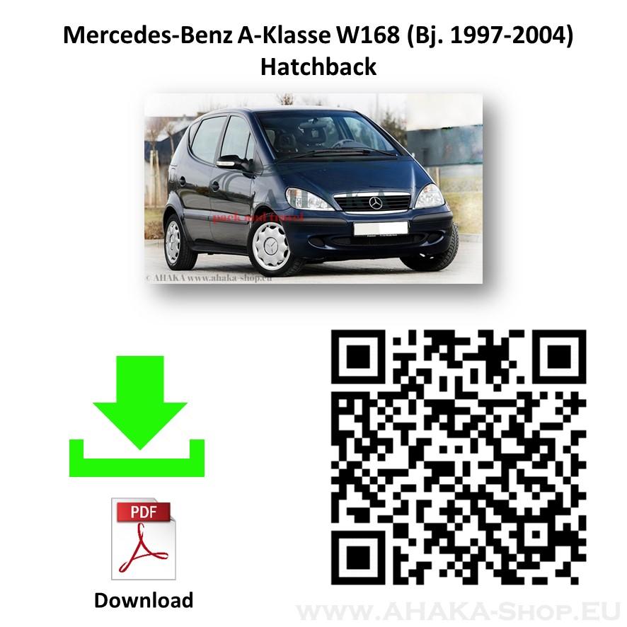 Anhängerkupplung für MB Mercedes Benz A Klasse W168 Schrägheck Bj. 1997 - 2004 - günstig online kaufen