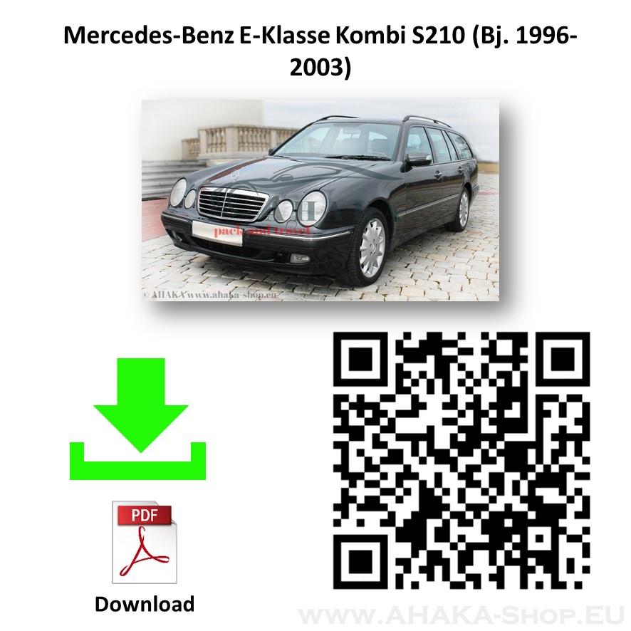 Anhängerkupplung für MB Mercedes Benz E Klasse S210 Kombi Bj. 1996 - 2003 - günstig online kaufen
