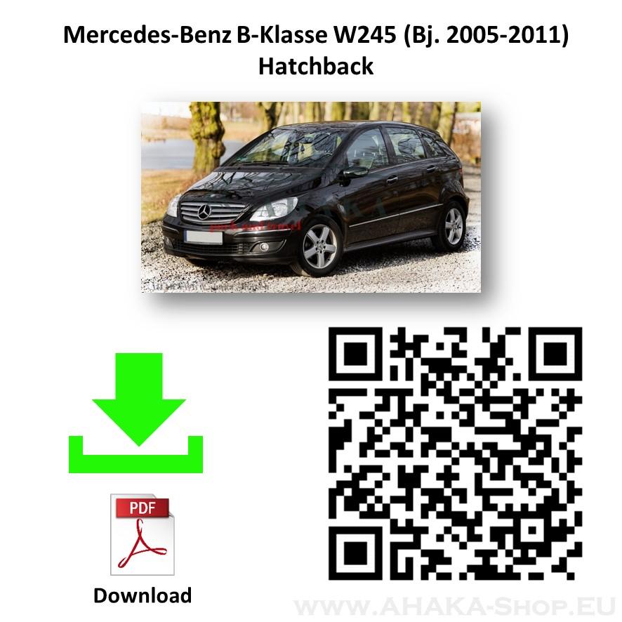 Anhängerkupplung für MB MERCEDES BENZ B Klasse W245 Schrägheck Bj. ab 2005 - 2011 - günstig online kaufen