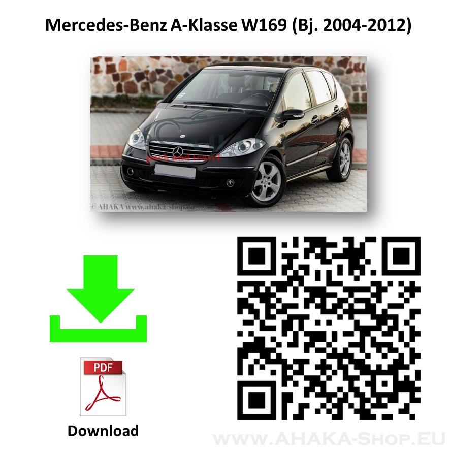 Anhängerkupplung für MB Mercedes Benz A Klasse W169 Schrägheck Bj. 2004 - 2012 - günstig online kaufen