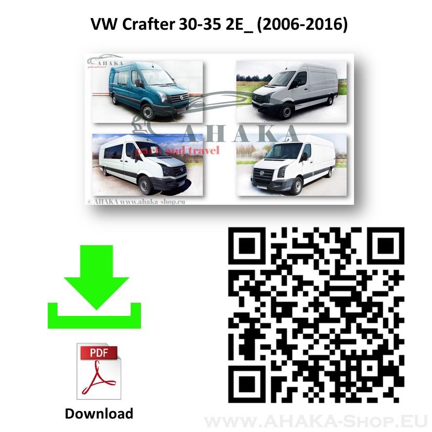 Anhängerkupplung für VW VOLKSWAGEN CRAFTER I Bus, Kasten Bj. ab 2006 - 2016 - günstig online kaufen