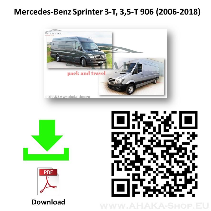 Anhängerkupplung für MB Mercedes Benz Sprinter W906 Bus, Kasten Bj. 2006 - 2018 - günstig online kaufen