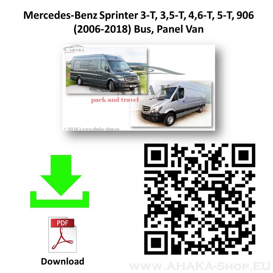 Anhängerkupplung für MB Mercedes Benz Sprinter W906 Bus, Kasten, Pritsche Bj. 2006 - 2018 - günstig online kaufen
