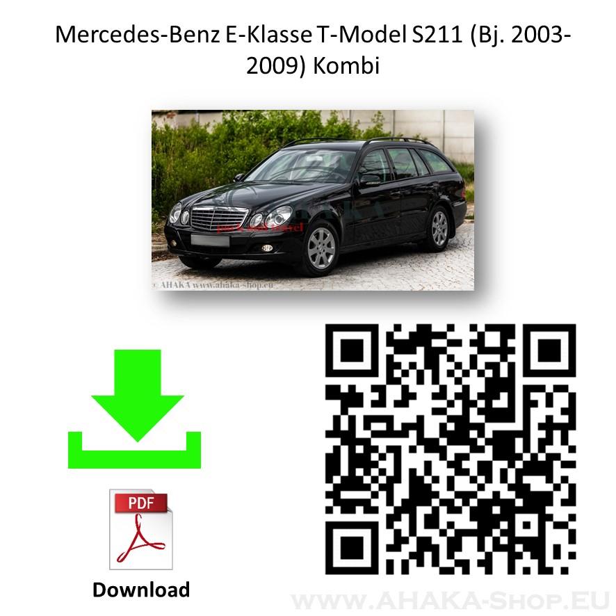 Anhängerkupplung für MB Mercedes Benz E Klasse S211 Kombi Bj. 2003 - 2009 - günstig online kaufen