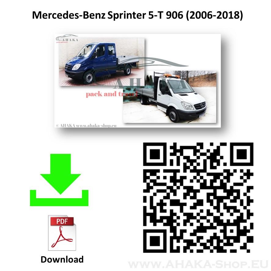 Anhängerkupplung für MB Mercedes Benz Sprinter W906 5T Pritsche Bj. 2006 - 2018 - günstig online kaufen