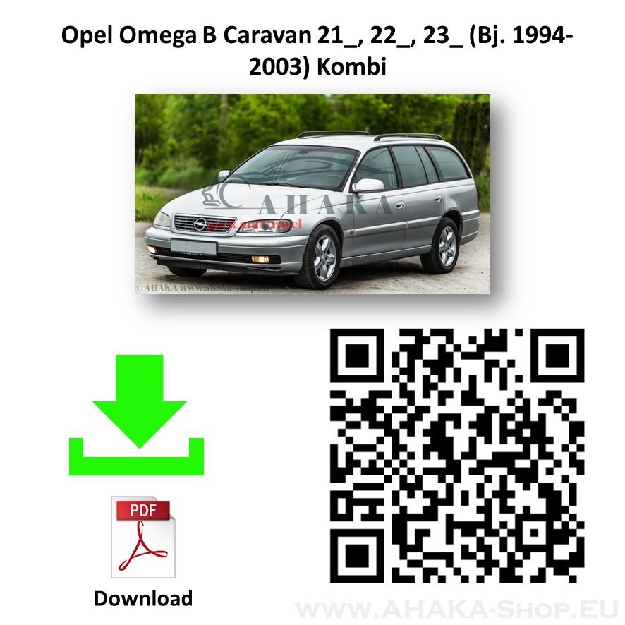 Anhängerkupplung für OPEL OMEGA B Caravan Kombi Bj. ab 1994 - 2003 - günstig online kaufen