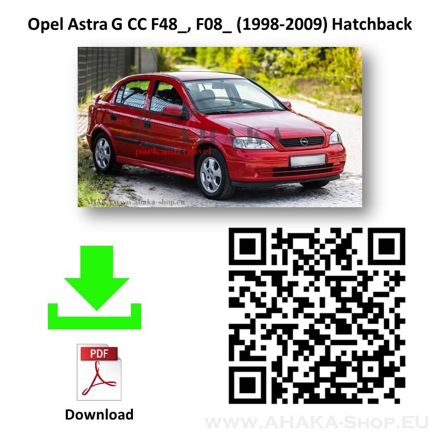 Anhängerkupplung für Opel Astra G Schrägheck, Stufenheck Bj. 1998 - 2009 - günstig online kaufen
