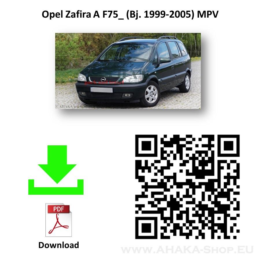 Anhängerkupplung für OPEL ZAFIRA A Bj. ab 1999 - 2005 - günstig online kaufen