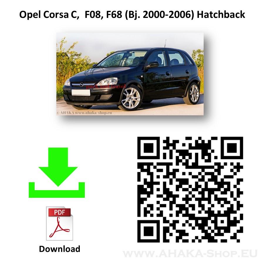 Anhängerkupplung für Opel Corsa C Schrägheck Bj. 2000 - 2006 - günstig online kaufen