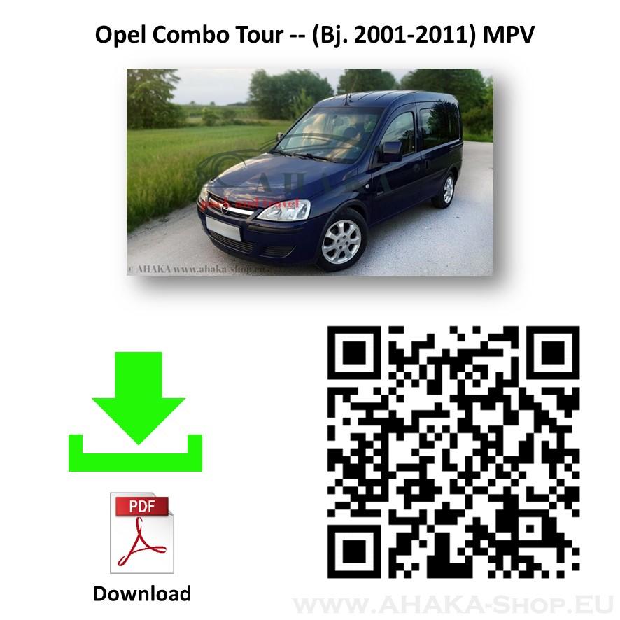 Anhängerkupplung für Opel Combo C Bj. 2002 - 2012 - günstig online kaufen