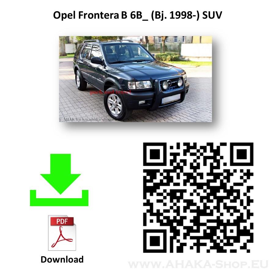 Anhängerkupplung für Opel Frontera Bj. 1998 - 2003 - günstig online kaufen