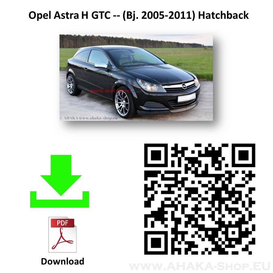 Anhängerkupplung für Opel Astra H Schrägheck Bj. 2004 - 2010 - günstig online kaufen