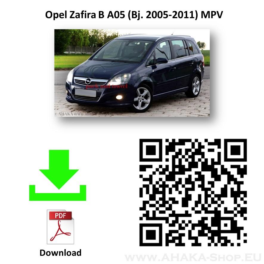 Anhängerkupplung für Opel Zafira B Bj. 2005 - 2014 - günstig online kaufen