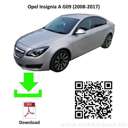 Anhängerkupplung für Opel Insignia A Schrägheck, Stufenheck, Sports Tourer Bj. 2008 - 2017 - günstig online kaufen