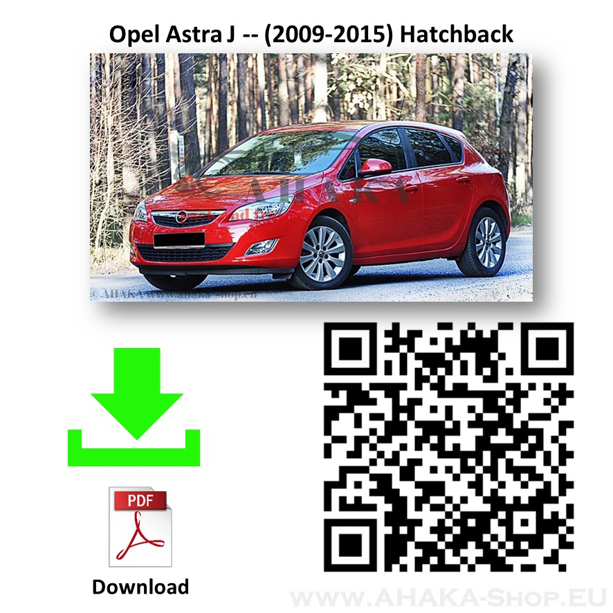 Anhängerkupplung für Opel Astra J Schrägheck, GTC Bj. 2009 - 2015 - günstig online kaufen