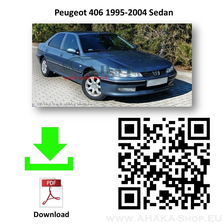 Anhängerkupplung für Peugeot 406 Stufenheck Bj. 1995 - 2004 - günstig online kaufen