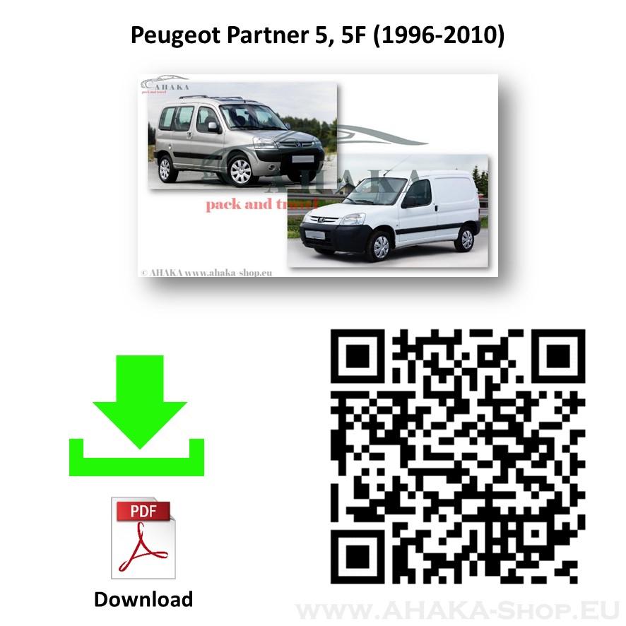 Anhängerkupplung für Peugeot Partner Bj. 1996 - 2009 - günstig online kaufen