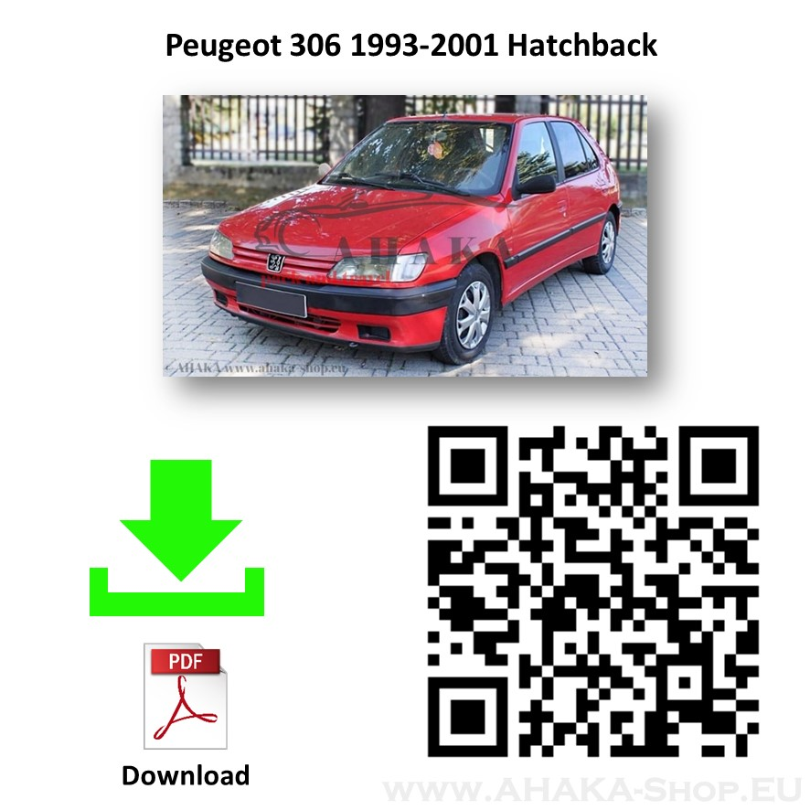 Anhängerkupplung für Peugeot 306 Schrägheck Bj. 1993 - 2001 - günstig online kaufen