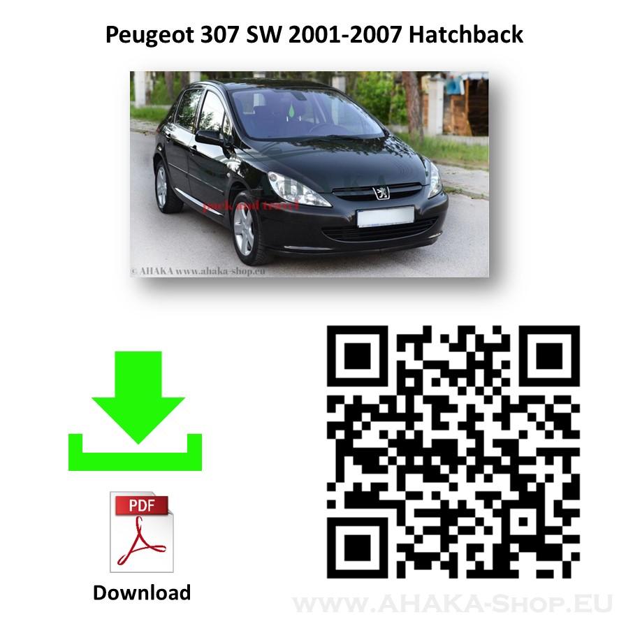Anhängerkupplung für Peugeot 307 Schrägheck Bj. 2001 - 2007 - günstig online kaufen