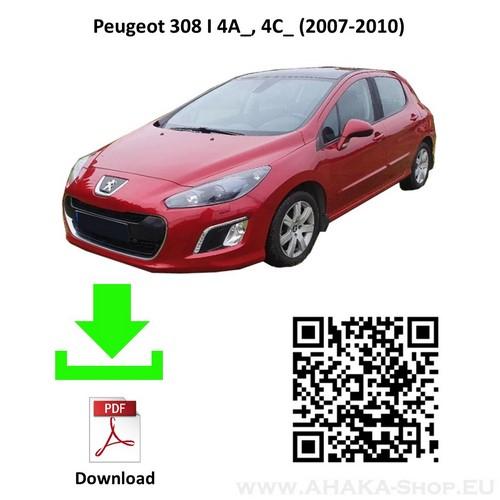Anhängerkupplung für Peugeot 308 Schrägheck Bj. 2007 - 2011 - günstig online kaufen