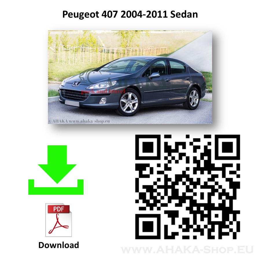 Anhängerkupplung für Peugeot 407 Stufenheck Bj. 2004 - 2008 - günstig online kaufen