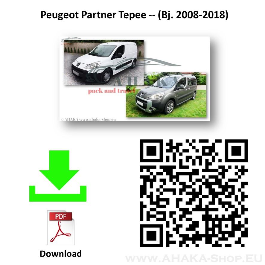 Anhängerkupplung für Peugeot Partner II L1 (M) Bj. 2008 - 2018 - günstig online kaufen