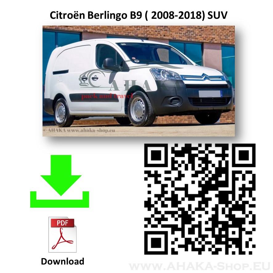 Anhängerkupplung für CITROEN BERLINGO II L1 Bj. ab 2008 - - günstig online kaufen