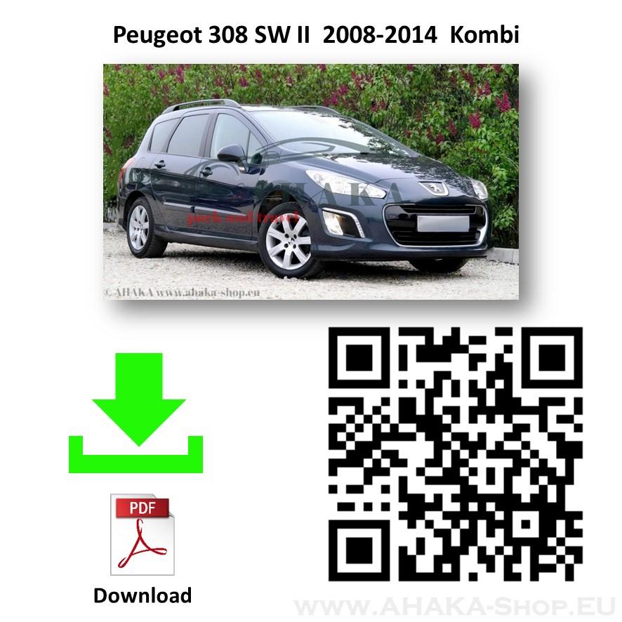Anhängerkupplung für Peugeot 308 SW Kombi Bj. 2008 - 2014 - günstig online kaufen
