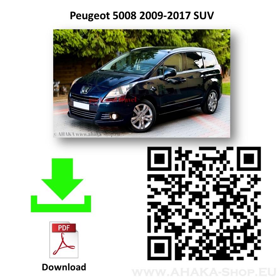 Anhängerkupplung für Peugeot 5008 Bj. 2009 - 2017 - günstig online kaufen