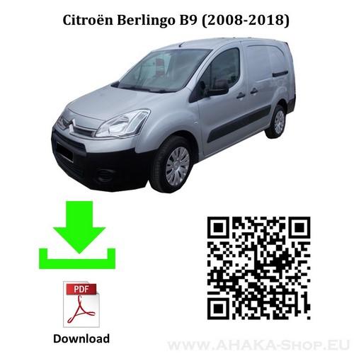 Anhängerkupplung für CITROEN BERLINGO II L2 Bj. ab 2008 - 2018 - günstig online kaufen