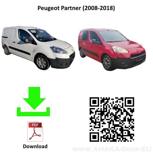 Anhängerkupplung für Peugeot Partner II L2 Bj. 2008 - 2018 - günstig online kaufen