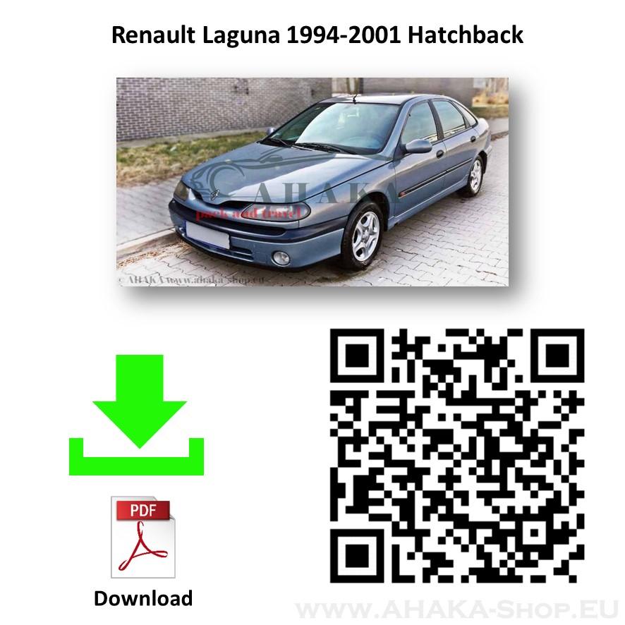 Anhängerkupplung für Renault Laguna I Schrägheck Bj. 1993 - 2001 - günstig online kaufen