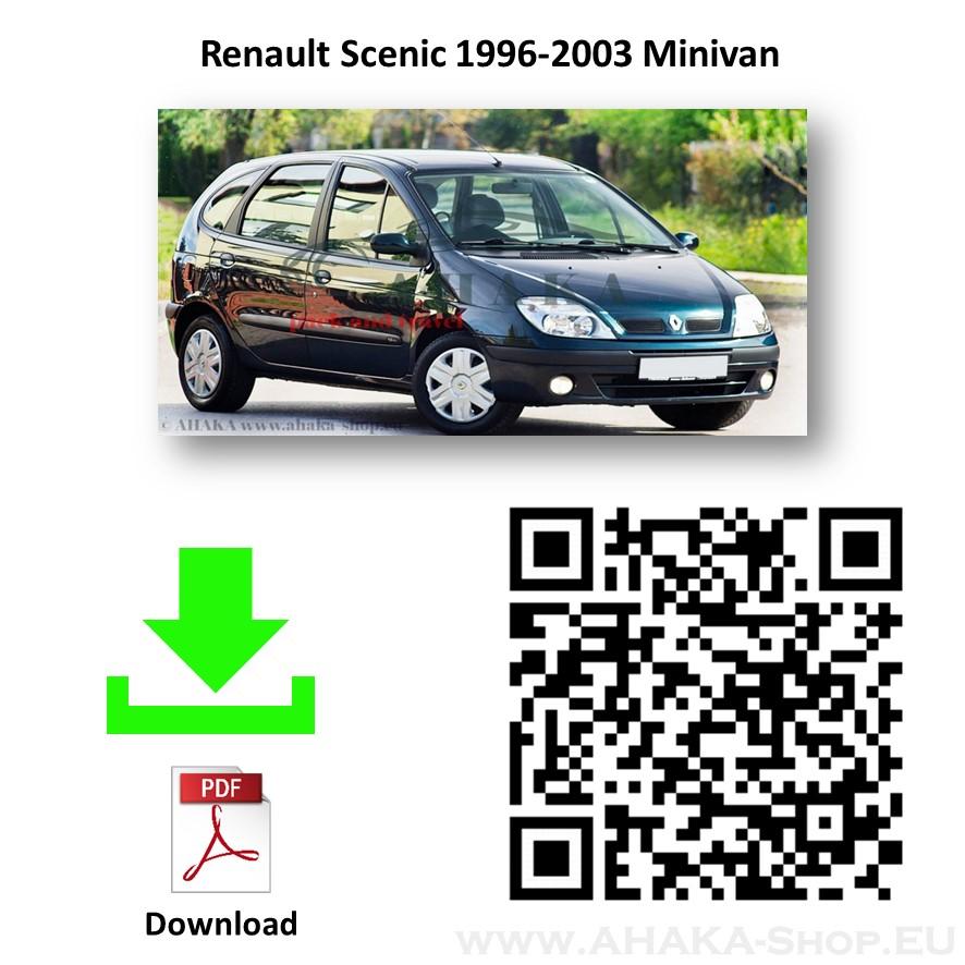 Anhängerkupplung für Renault Scenic I Bj. 1997 - 2003 - günstig online kaufen