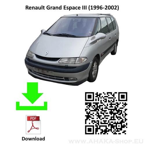 Anhängerkupplung für Renault Espace, Grand Espace Bj. 1996 - 2002 - günstig online kaufen