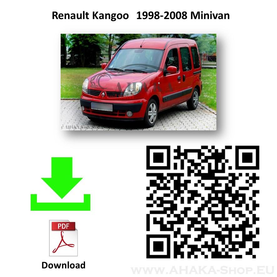 Anhängerkupplung für Renault Kangoo I Bj. 1997 - 2008 - günstig online kaufen