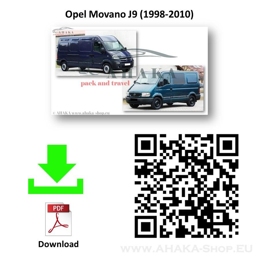Anhängerkupplung für Opel Movano Bus, Kasten, Pritsche Bj. 1999 - 2010 - günstig online kaufen