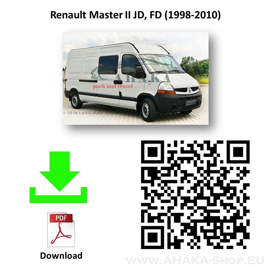 Anhängerkupplung für RENAULT MASTER Bus, Kasten Bj. ab 1998 - 2010 - günstig online kaufen