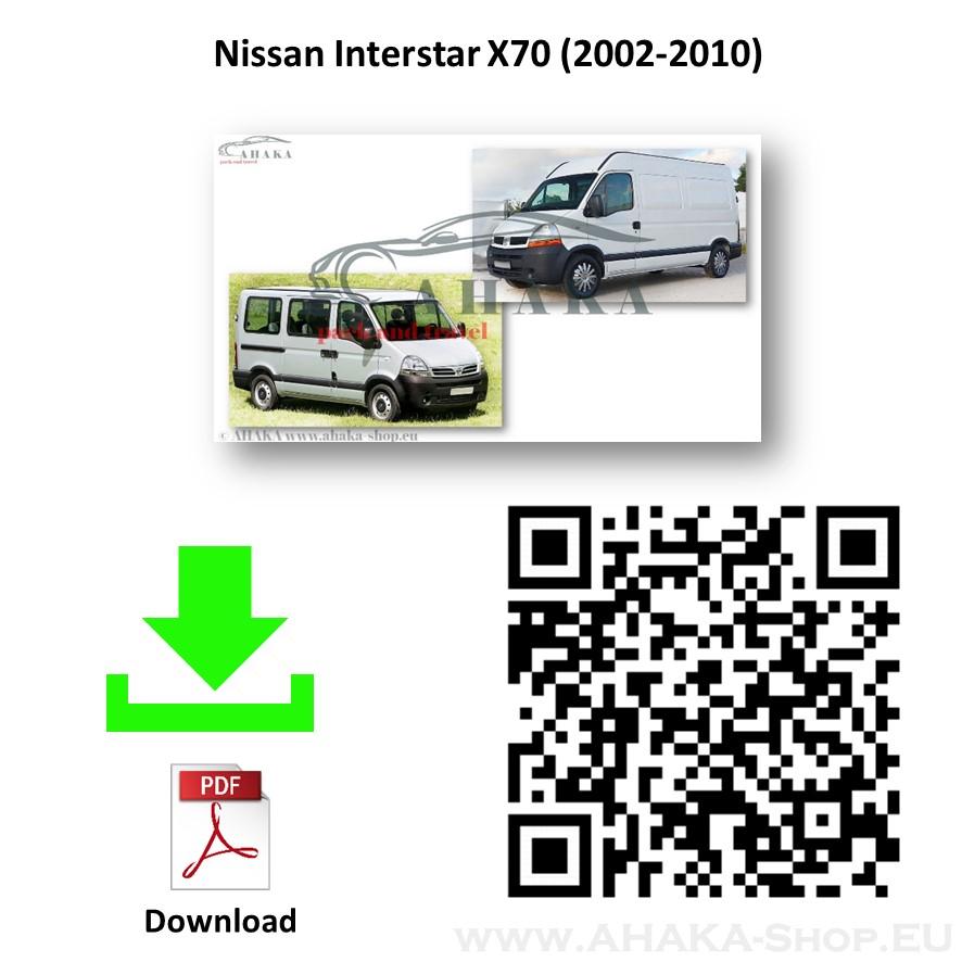 Anhängerkupplung für Nissan Interstar Bus, Kasten, Pritsche Bj. 2002 - 2010 - günstig online kaufen